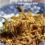 Rocambole  de Carne com Mandioca Ralada