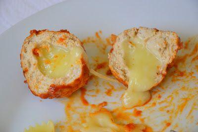 almodega de frango e queijo