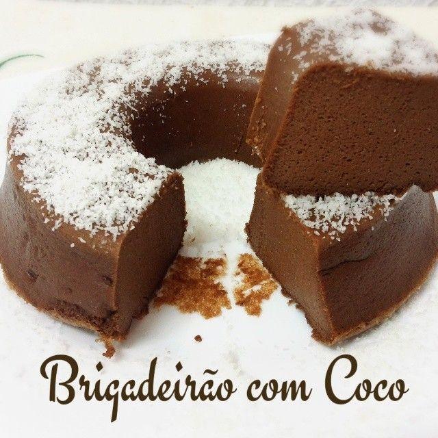 brigadeirao com coco