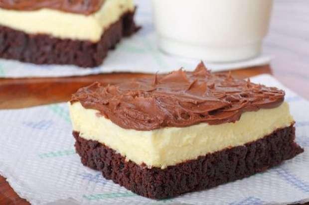 Como fazer Cheesecake de Brownie
