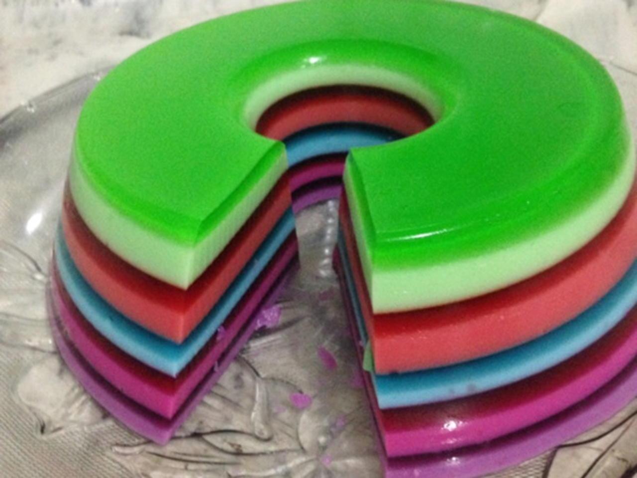 Como fazer gelatina em camadas