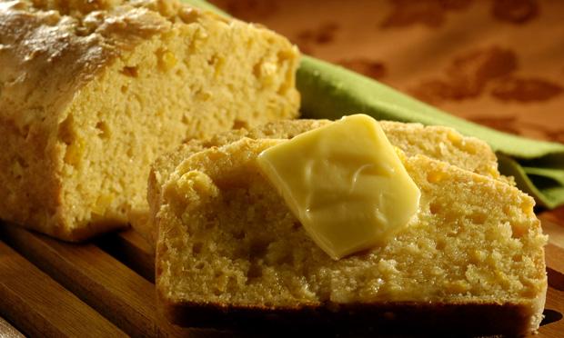 Receita de Pão de Milho de Liquidificador