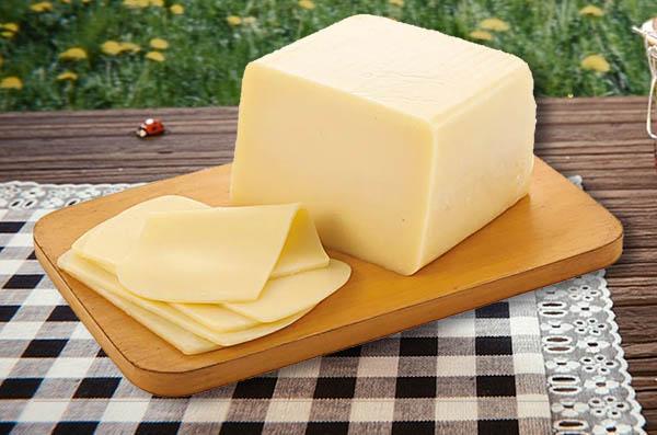 Forma de congelar correto queijo mussarela